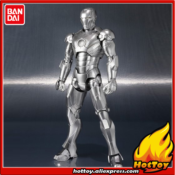 Original BANDAI Tamashii Nations S.H.Figuarts (SHF) Exclusive Action Figure - Iron Man Mark2 (MK-2)&Hall of Armor SET Iron Man anime captain america civil war original bandai tamashii nations shf s h figuarts action figure ant man