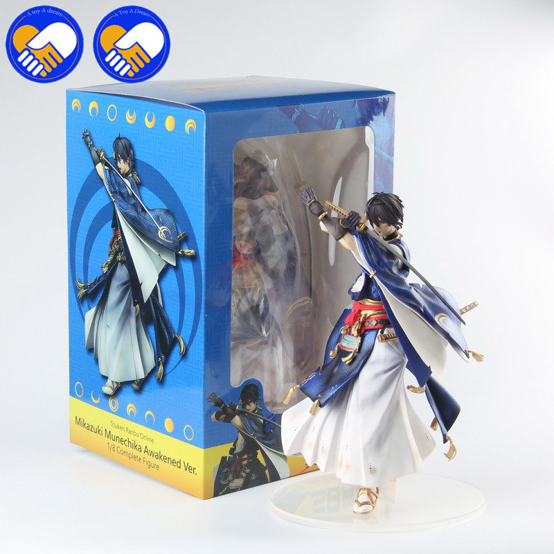 NEW Anime Touken Ranbu Online Mikazuki Munechika Awakened Ver. 1/8 Scale Complete Figure PVC Action Model Best Colllection Toys touken ranbu online good smile face changable 511 mikazuki munechika nendoroid pvc action figure collectible model toy