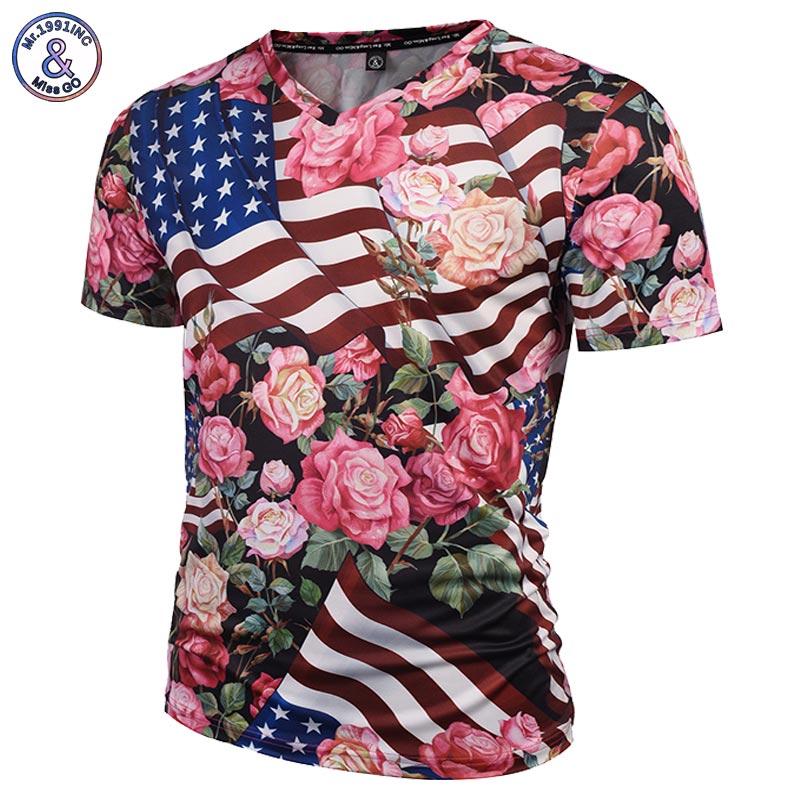 Fashion brand tshirt men women 3d t shirts v for T shirt printing usa