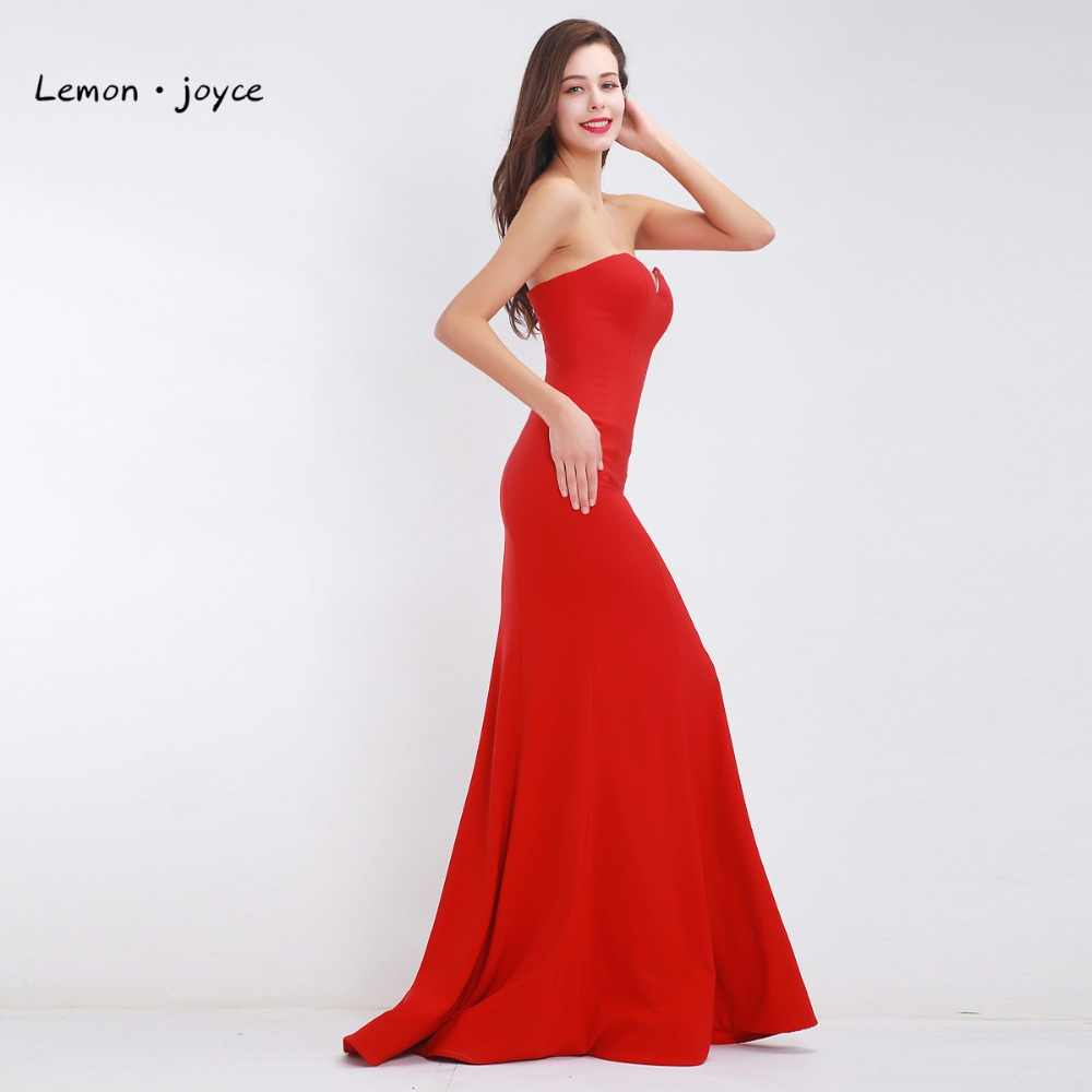 ... Red Mermaid Evening Dresses 2019 Long Elegant Sweetheart Simple Prom  Dresses Special Occasions Gowns vestido de ... 98b9192e7b70