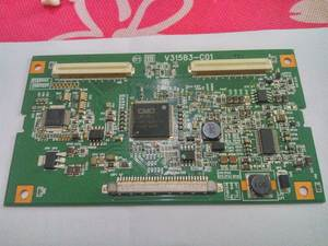 LOGIC BOARD v315b3-c01 32v88 connect with T-CON