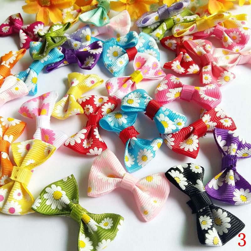 40 pieces fashion bowtie DIY craft decoration handmade For Handmade Bow Wedding Decoration Scrapbooking Sewing Craft