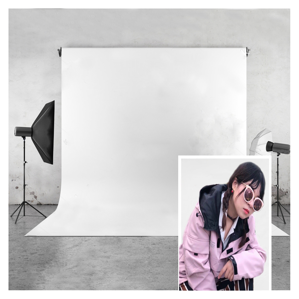 Image 2 - White Vinyl Photography Backdrops Seamless Photo Background Glare free Photography Backgrounds For Photo Studio Photo Props-in Background from Consumer Electronics
