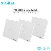 New Broadlink TC2 EU Light Switch Smart Remote Control Wall Switch 3G 4G Wifi Wireless Remote