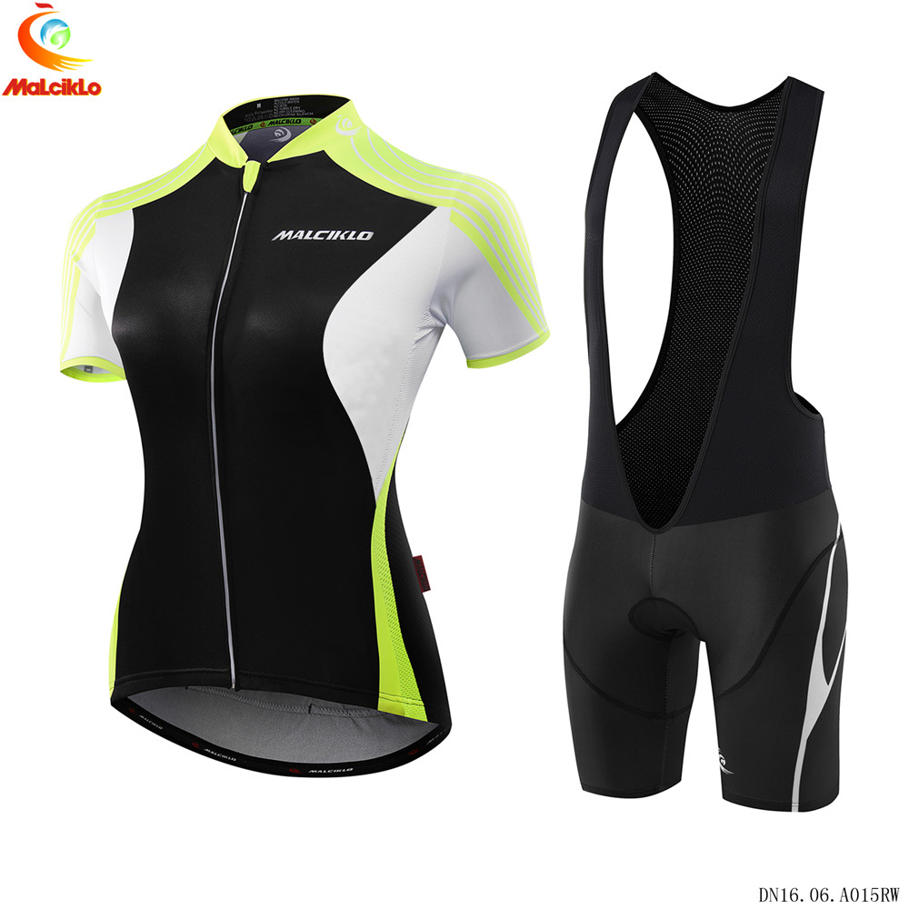 Malciklo 2017 Pro Team Women Cycling Bicycle MTB Jersey Wear Short Sleeve  Breathable Ciclismo Roupa Bike Clothing D008