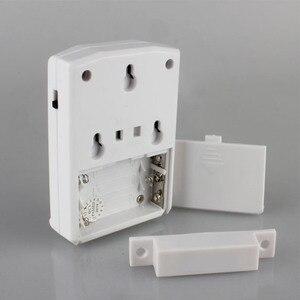 Image 3 - Capteur de porte magnétique pour téléchargement sonore, alarme dentrée, sonnette de bienvenue, sonnette douverture, alerte de sécurité, rappel vocal