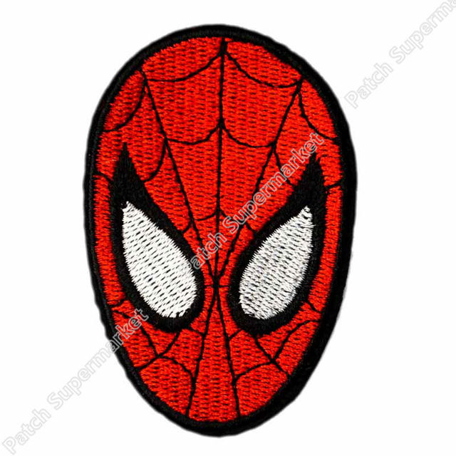 Spiderman face logo - photo#34