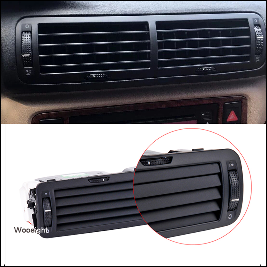 New Front Dashboard Car Central Air Vent Outlet A C Heater For VW Passat B5 1997