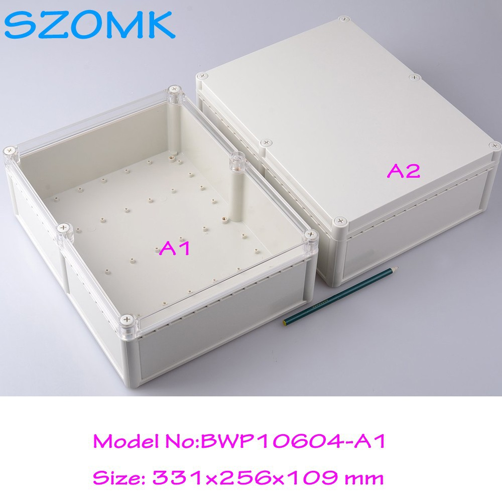 1 piece high quality case electronic enclosures beautiful design custom plastic models 331x256x109 mm кейс для диджейского оборудования thon dj cd custom case dock