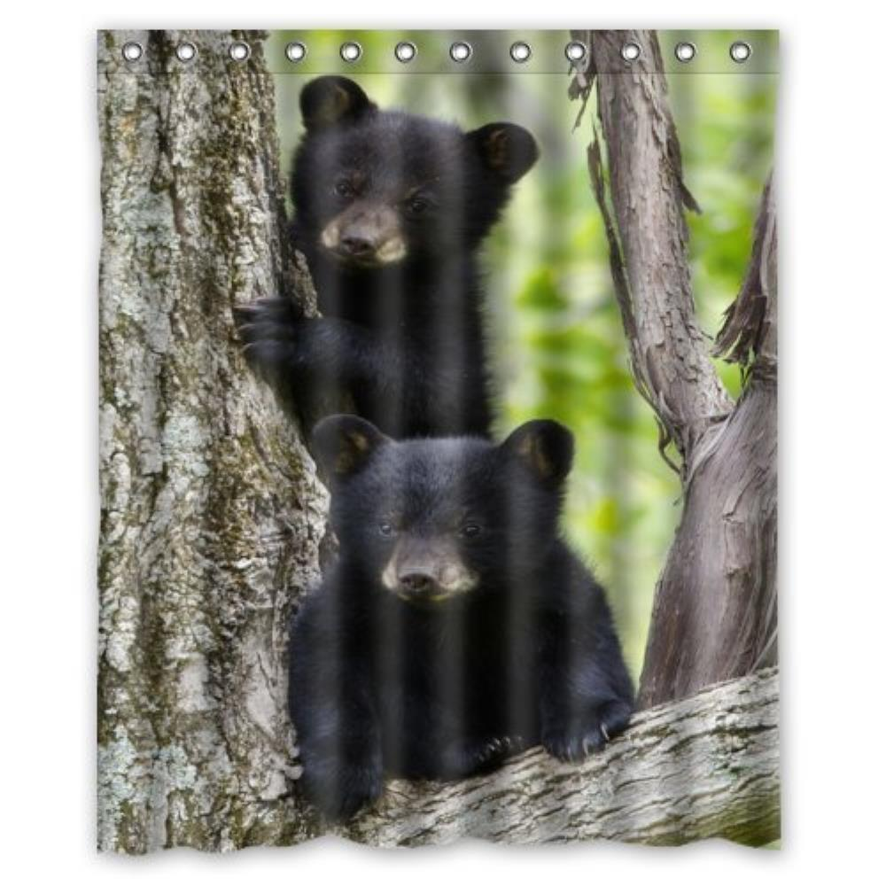 popular black bear curtains-buy cheap black bear curtains lots