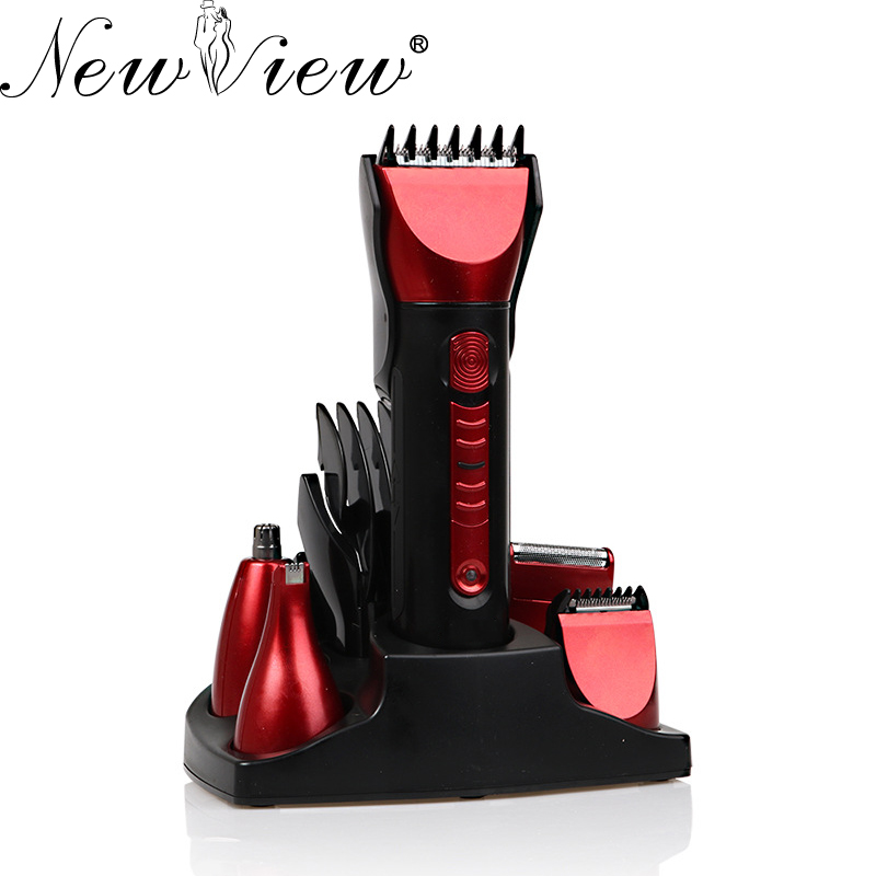 NewView Electric Hair Clipper Rechargeable Hair Trimmer Beard Shaver Professional Haircut Machine Nose Trimmer Hairclipper newview electric hair trimmer rechargeable hair clipper professional haircut machine barber salon beard trimmer hairclipper