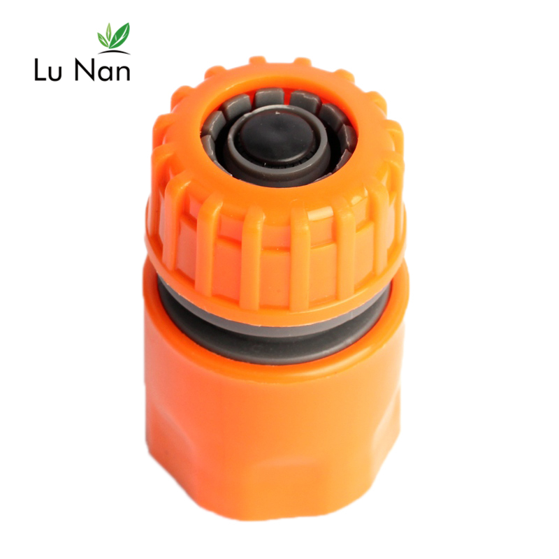 ABS 1Pc 1/2'' Water Hose Quick Connectors Backflow-proof Irrigation Fast Joints Garden Watering Gun Pipe Accessories