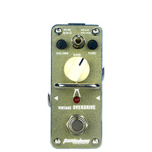 Tomsline AGR-3S Overdrive Boost Pedal Guitar Effect Signature By Hands Without Shadows Michael Angelo Warm and Natural Sound