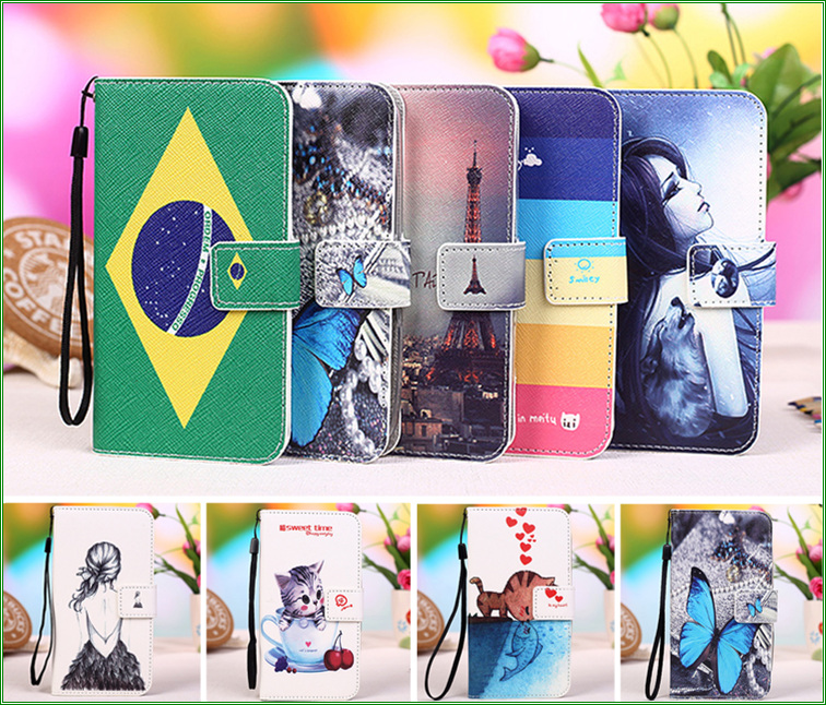 For Moto XT1552 Phone Wallet case For Motorola Moto G Turbo Edition XT1552 / G3 (2015) (5.0 inches) phone case cover + Tracking