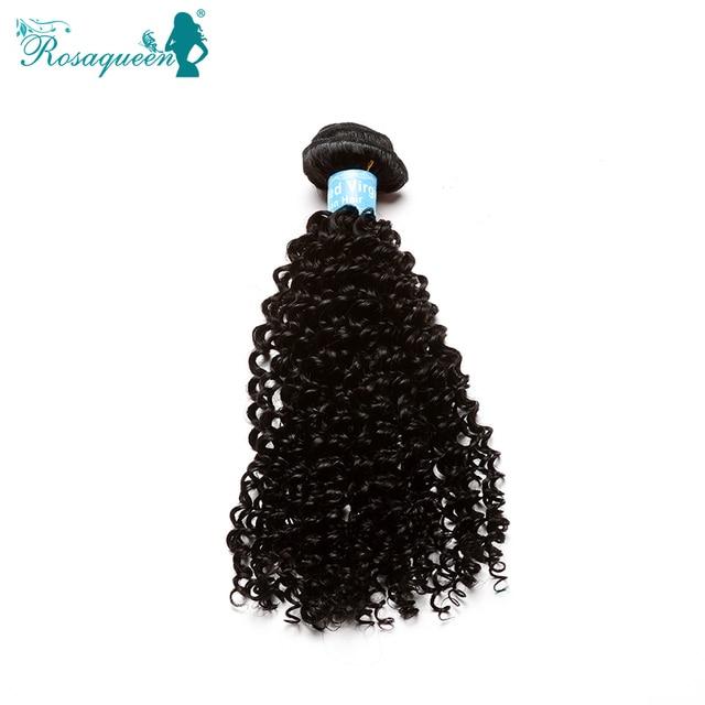 Malaysian Kinky Curly Virgin Human Hair Weave Malaysian Curly Hair Natural Black Kinky Curly Hair Rosa Queen Hair Products