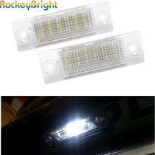 FOR VW Touran LED License Plate Lamp for Skoda Superb I 02-08 Caddy 04~/Golf Plus 05~/Jetta 06~ Passat B5 03~