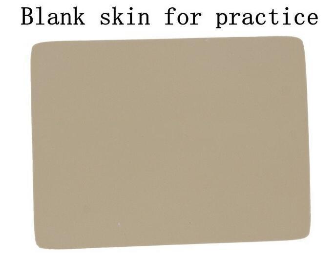 бесплатная доставка 10 шт./лот 2017 лидер продаж профессиональные татуировки практике кожи пустой поставок для начинающих постоянный макияж практика