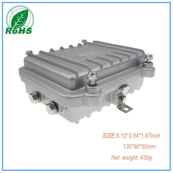 Aluminum Extruded Enclosure Waterproof Junction Box Outdoor Electrical Panel Boxes 1309050mm 512