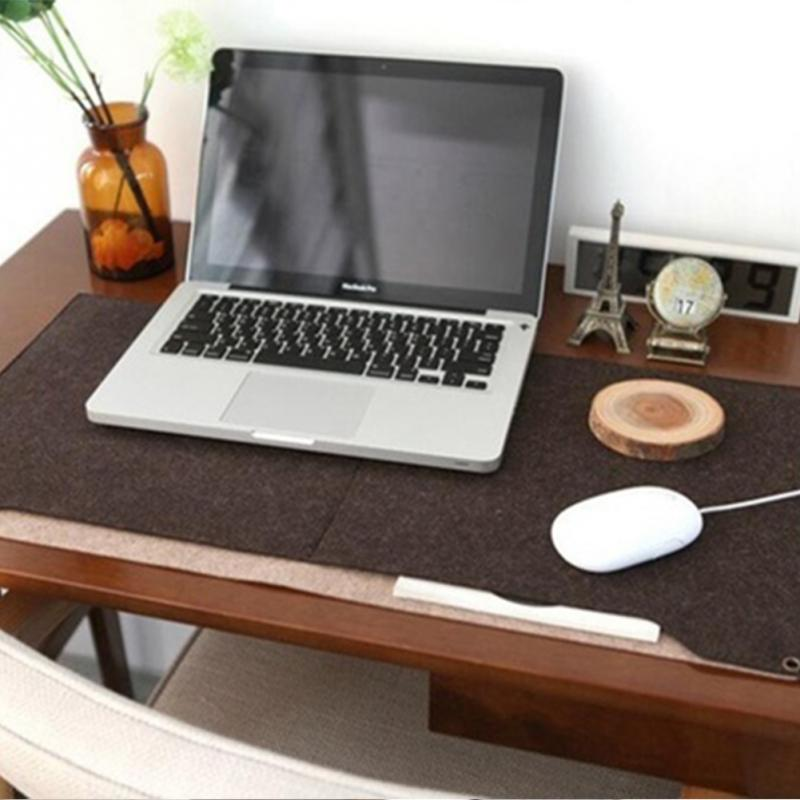 durable regard computer table with pad inspirations mat pen mats for office chair holder to carpet fashion felt modern mouse desk