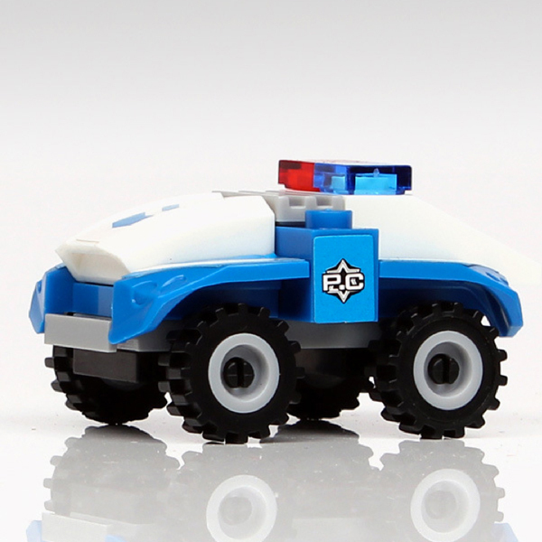 D962 Free shipping hot selling Childrens educational toy building blocks assembled car toys for children gift