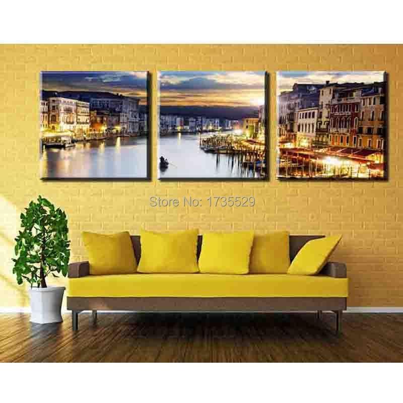 Colorful Venice Wall Art Inspiration - Art & Wall Decor - hecatalog.info