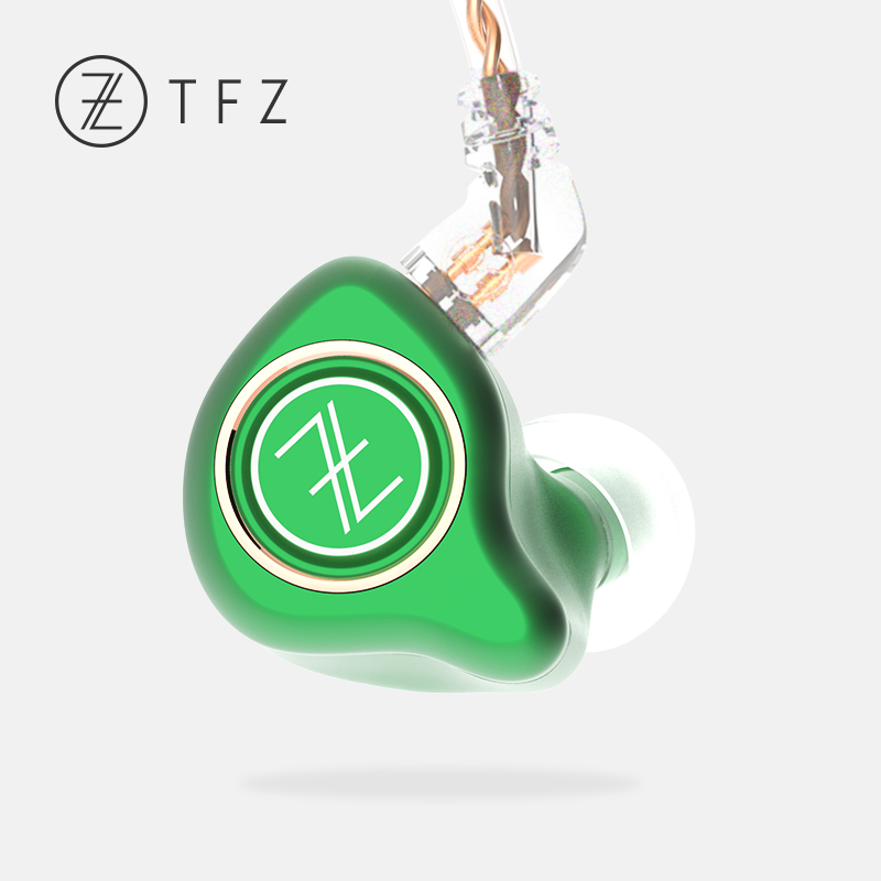TFZ KING PRO HIFI In-Ear Monitor Earphones Stereo earphone with 2-pin 0.78mm 5N oxygen free detachable copper Cables tfz queen hifi in ear monitor earphones earphone dynamic iem with 2 pin 0 78mm detachable cables dj stage earphones