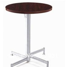 Коктейльный кофе круглый складной стол, основание из нержавеющей стали, МДФ топ, kd упаковка 1 шт/коробка, быстрая