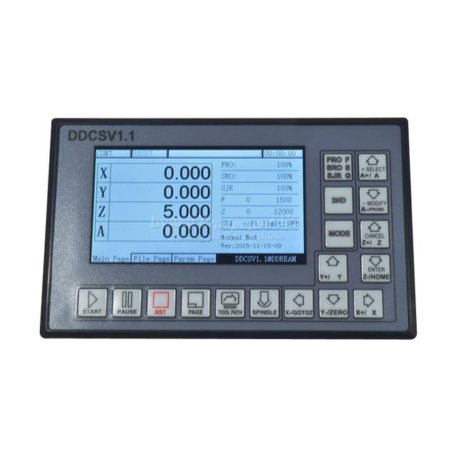 CNC maschinen controller festplatte lesen G code 4 achsen offline NC ...