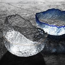 1500ml glass salad bowl dinner food bowl crystal tray kitchen dinnerware tableware