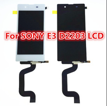 White black LCD display touch screen with digitizer full Assembly repair parts for Sony Xperia E3 D2243 D2212 D2203 D2206