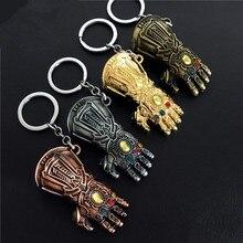 Купить с кэшбэком American Heroes Movie Thanos Avengers Alliance 3 Infinity Tanos Infinity Gloves Mask Cosplay Costumes Gloves Mask Model Key Chai