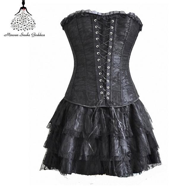 Waist trainer corsets steampunk corselet gothic
