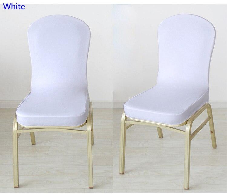 Design Stoelen Uitverkoop.Us 2 0 Witte Kleur Spandex Half Stoelhoezen Voor Bruiloft Stoel Decoratie Lycra Stretch Partij Stoel Uitverkoop Voor Evenementen Tonen In Stoelhoes