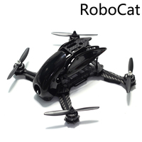 Robocat 270 270mm Mini Quadcopter Frame Kit Carbon Fiber Alien voor FPV RC Racing Drone-in Casco van Consumentenelektronica op