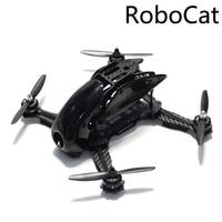 Robocat 270 270mm Mini Quadcopter Frame Kit Carbon Fiber Alien voor FPV RC Racing Drone-in Casco van Consumentenelektronica op