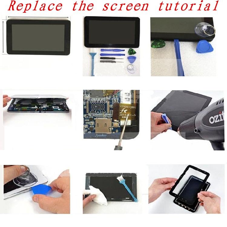 Черный 10,1 дюймов для Zinox Zpad S1011 емкостный сенсорный экран сменная панель для ремонта запасных частей