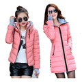 2017 New Wadded Jacket Female Women Winter Jacket Down Cotton Coat Slim Parkas Ladies Plus Size Womens Jackets And Coats C2262