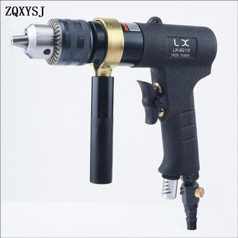 Reversible Pneumatic Air Drill Tool 1/2 Speed Pneumatic Pistol Air Drill Tapping Machine Tapping Drilling 3/8 Pneumatic Air Tool bben mini pc windows 10 intel z8350 quad core 2g 4g 32g 64g hdmi wifi bt4 0 pc smart tv box pocket pc stick micro pc tv stick