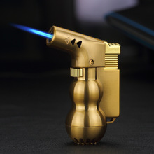 NEW Mini Spray Gun Compact Butane Jet Lighter Torch Turbo Lighter Fire Windproof Metal JET Lighter 1300 C NO GAS