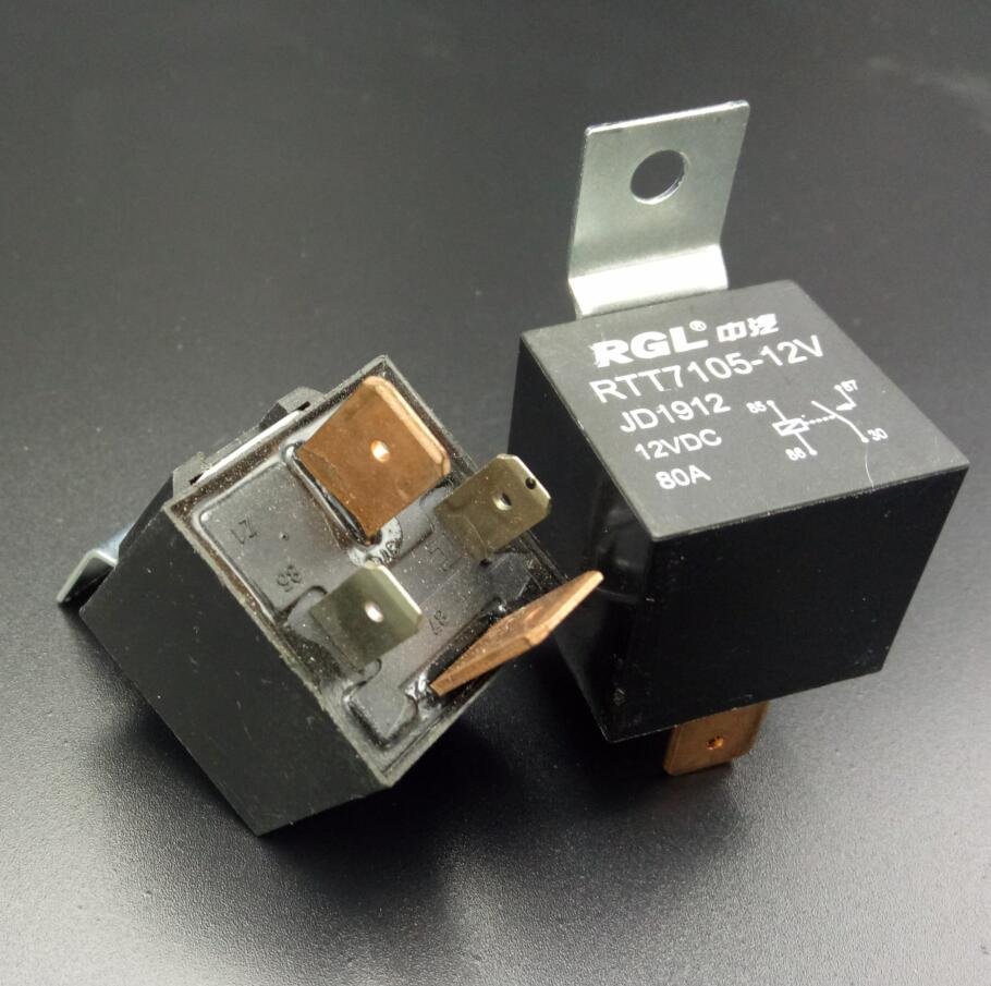 Rgl 80a Actually Famous Rgl All Brass Pins 4 Pin Auto Relay 12v