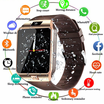 DZ09 Smart Watch Men Smartwatch Android Phone Call Relogio Waterproof IP67 With 2G SIM Camera WristWatch for Huawei PK GT08 A1