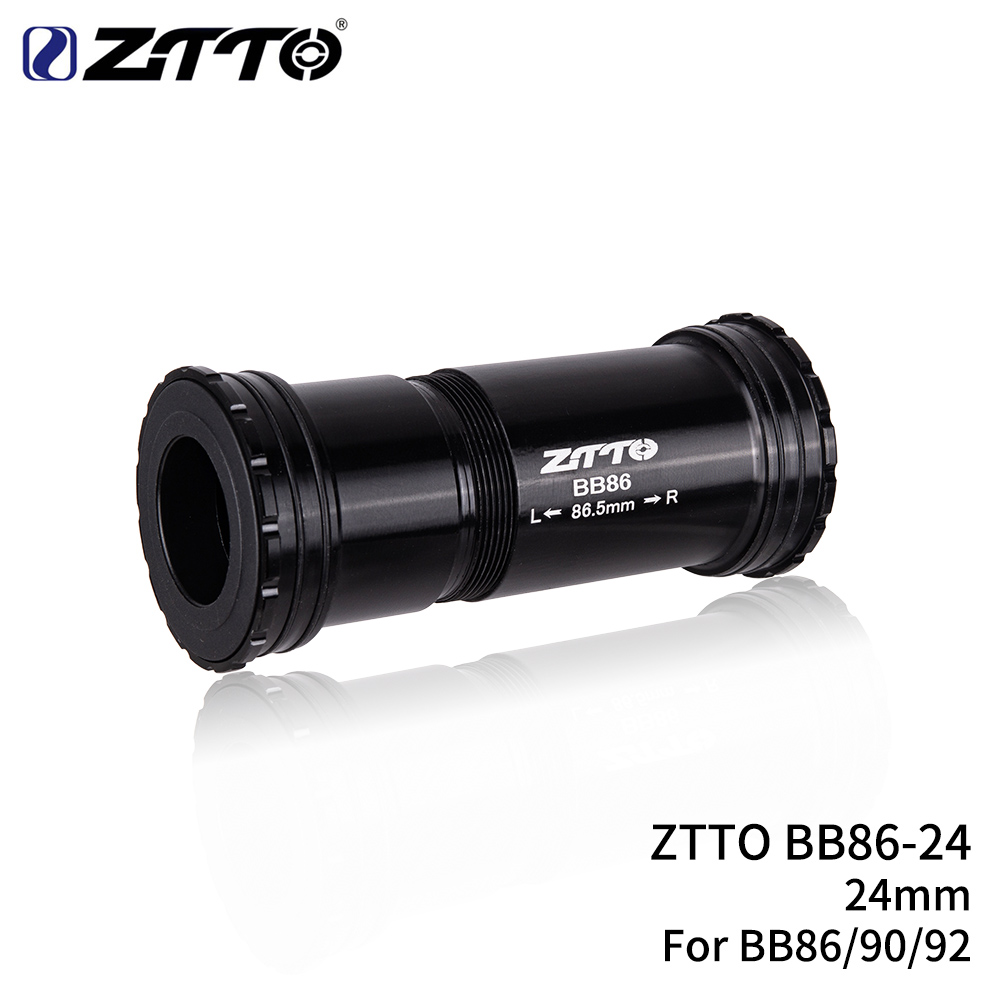 ZTTO BB86 BB90 BB92 Press Fit Bottom Brackets Thread lock MTB Mountain Bike Road Bicycle For Parts 24mm Crankset chainset