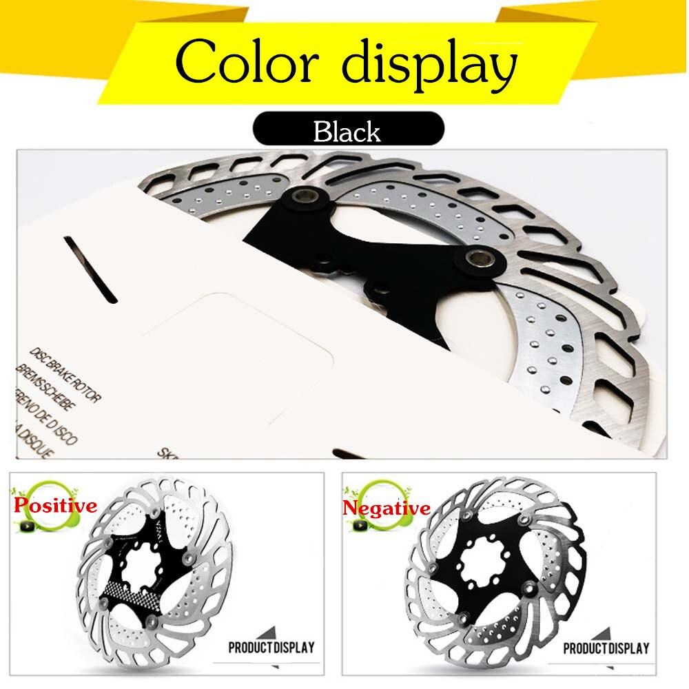 Купить с кэшбэком VXM Bicycle Brake Cooling Disc Floating Ice Rotor For MTB Road Bike  203mm 180mm 160mm 140mm Cooling Brake Rotors Bicycle Parts