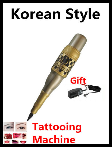 NEW!Korean Style Tattoo Machine Supply Drift lip Machine and Tattooing Eyebrow Pen Free Shipping
