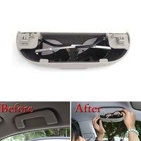 Car Interior High Grade Sunglasses Case Holder Box Storage Clip Fit For MITSUBISHI Pajero 2009 Car