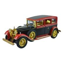 Y.T.G.F. retro de la vendimia del coche coche coche especial emperador pu yi ao modelo de children's toys