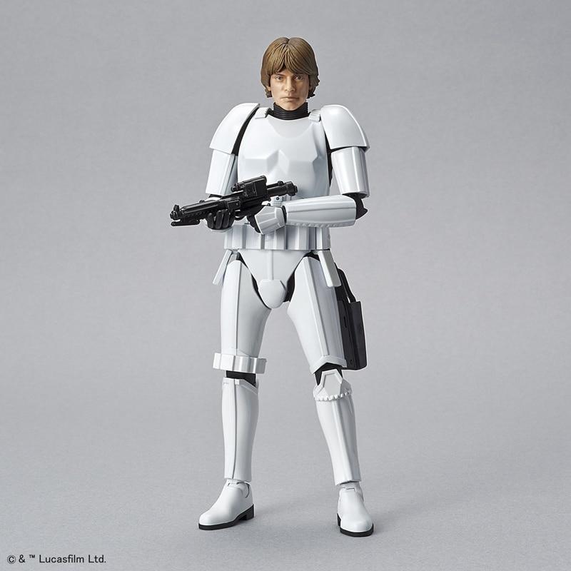 WSTXBD Original BANDAI STAR WARS 1/12 Scale General Luke Skywalker Stormtrooper PVC Figu ...
