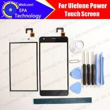 Ulefone Питания Сенсорный Экран Digitizer 100% Гарантия Оригинал Сенсорная Панель Экрана Планшета Для Питания Бесплатная Доставка
