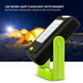 23 LEDs Lanterna Led de Emergência Luzes de Trabalho Da Lâmpada Da Lanterna Torche Acampamento Ao Ar Livre Lâmpadas de Bicicleta Com Ímã Gancho