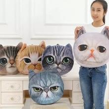 3D Pillow Cushion 40cmx38cm Cartoon Personality Car Creative Cat Nap Cute Seat Birthday Gift Home Decor